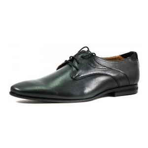 [:ru]Туфли мужские MIDA 110378-565 черная кожа[:uk]Туфлі чоловічі MIDA чорний 16296[:]