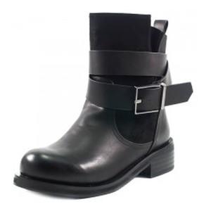 Ботинки демисезон женские Fabio Monelli W1296-9330Y черные