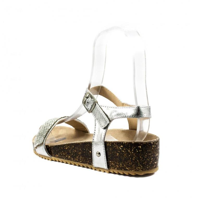 Босоножки женские Sopra 8628-F3-1 серебро