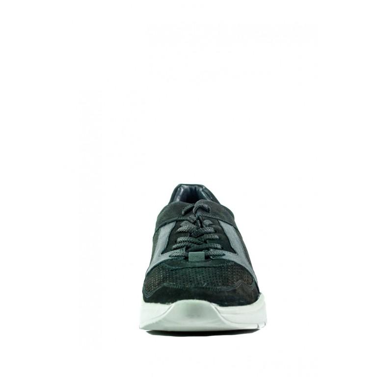 Кроссовки мужские MIDA 13463-9 черный нубук