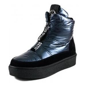 Ботинки зимние женские Lonza 1375-S645 голубые