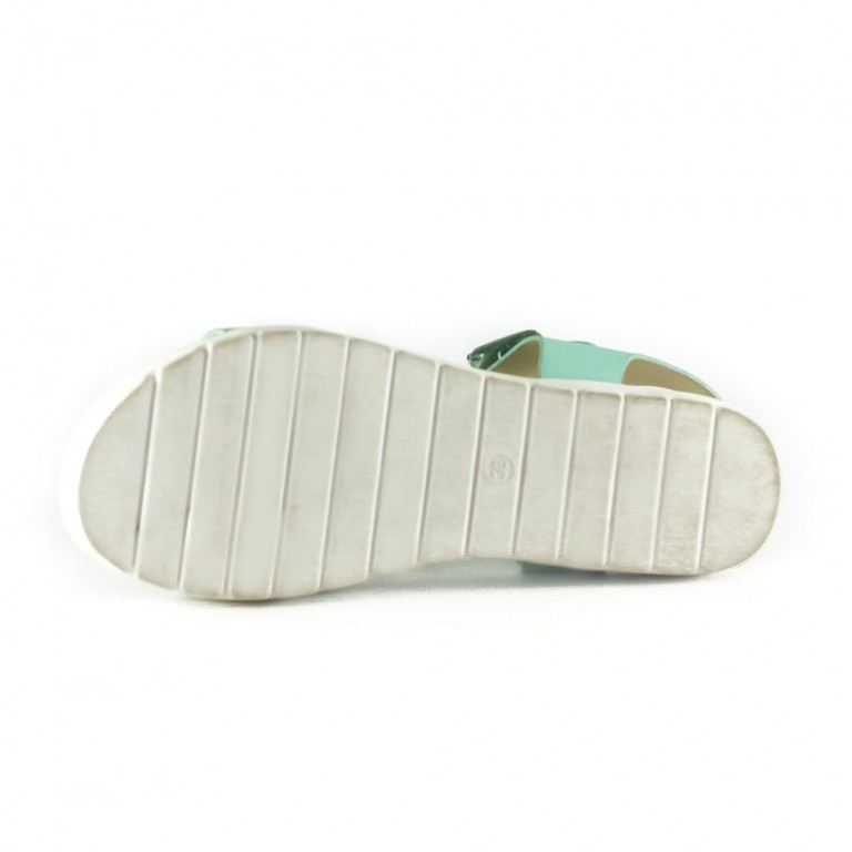 Сандалии женские Sopra JK1513-8 зеленые