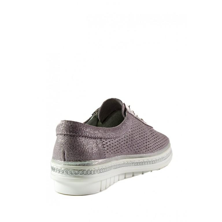 Мокасины женские Allshoes 1867-7K светло-фиолетовые