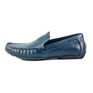 Мокасины мужские MIDA 11094-29 темно-синие