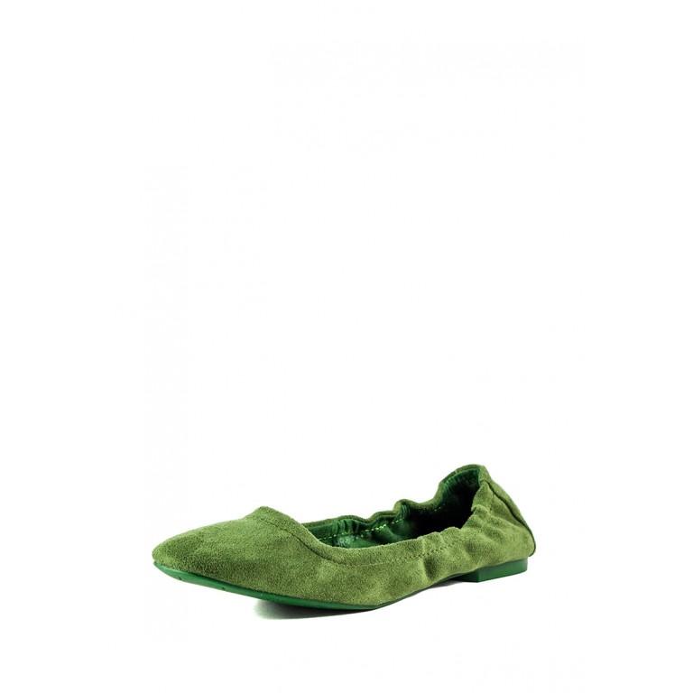 Балетки женские Prima D'arte HR-6Y528-C зеленые