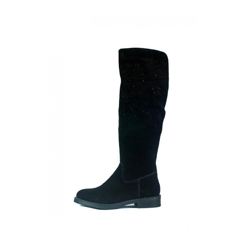 Сапоги зимние женские Lonza СФ BH2058-17RZ-A06 черные