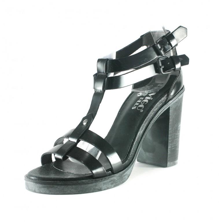 Босоножки женские Rovigo-Rifellini R866-Y-354 черные