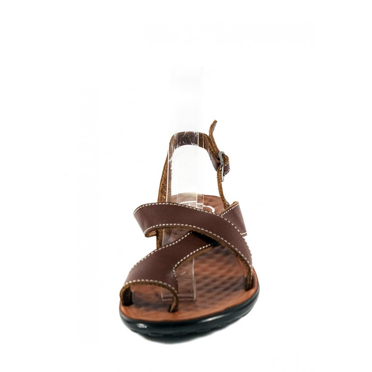 Сандалии женские TiBet 276-03-04 коричневые