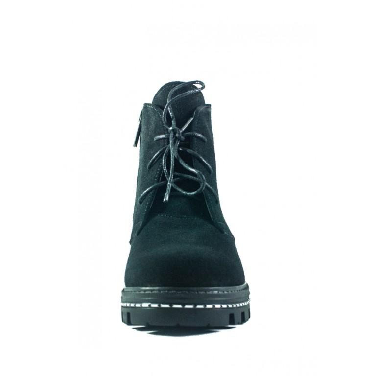 Ботинки демисезон женские CRISMA 00375В-Lisabon чз черные