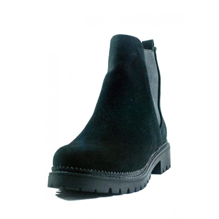 Ботинки демисезон женские CRISMA 2111S чз черные