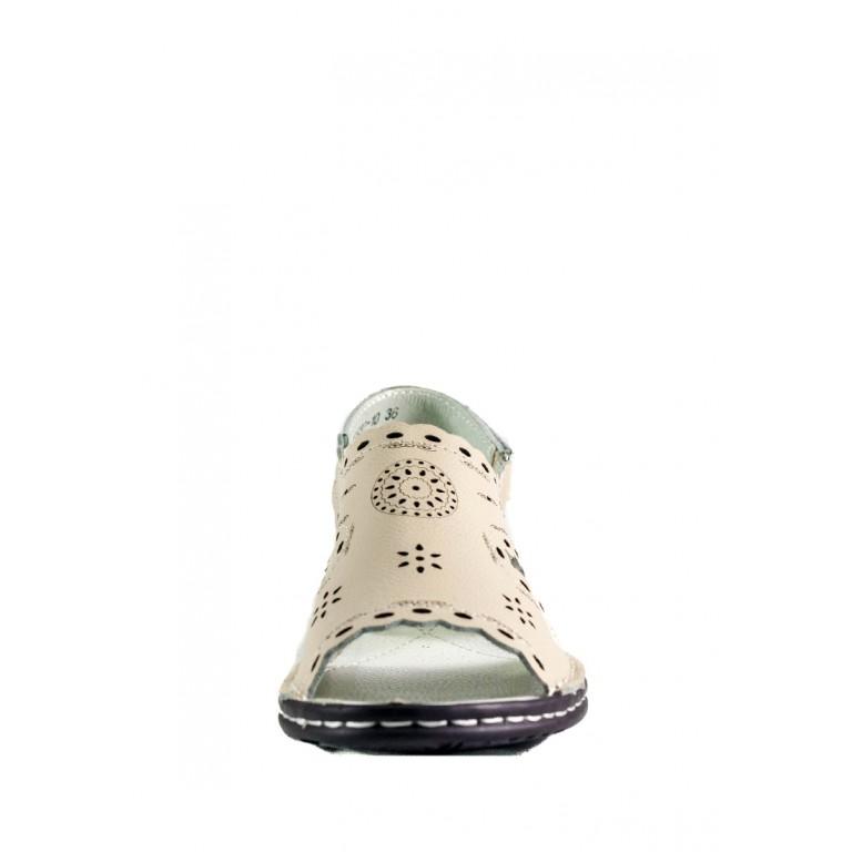 Босоножки женские Allshoes 77937-10 бежевый