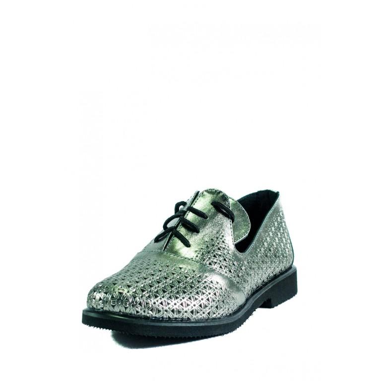 Туфли женские Ilona СФ 263-L10 серебряные