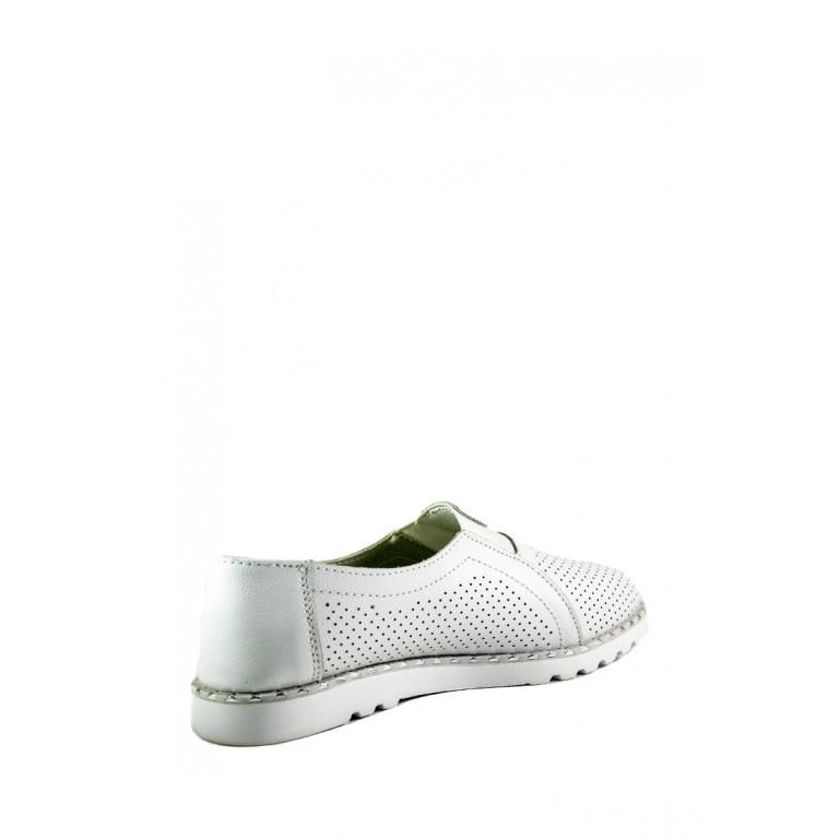 Мокасины женские Allshoes 2080-66 белый