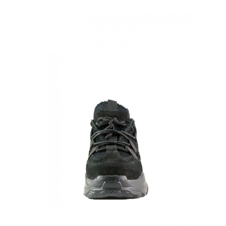 Кроссовки женские Allshoes 8706-9 черные