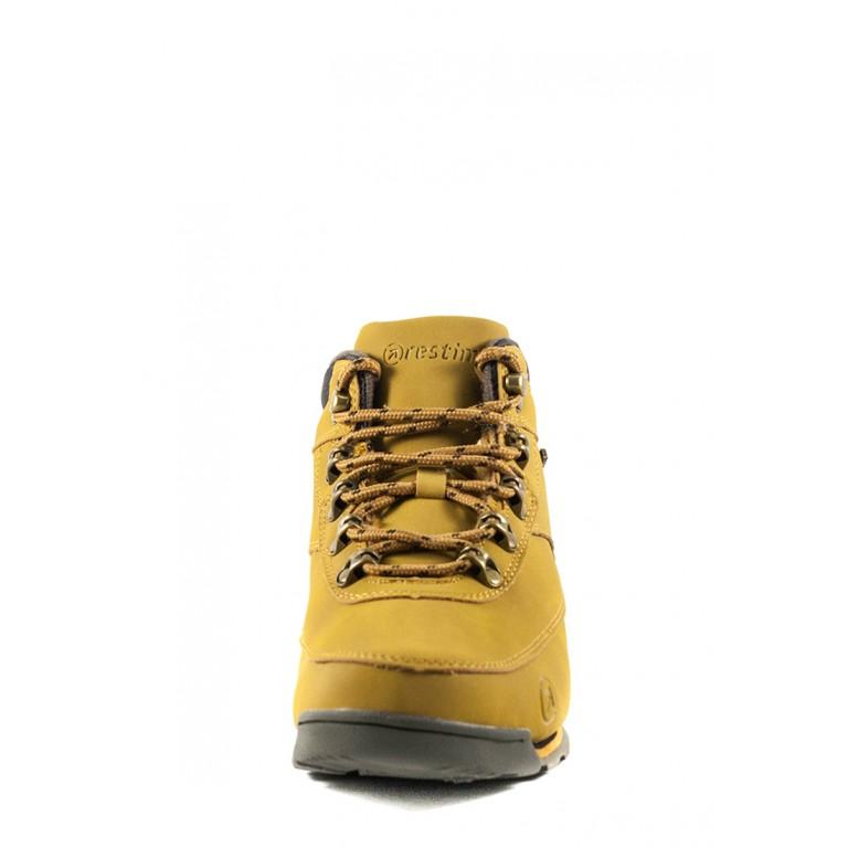 Ботинки зимние женские Restime KWZ19530 кэмел