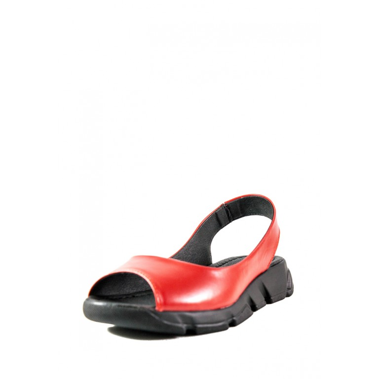 Сандалии женские SND 22610-12 красные