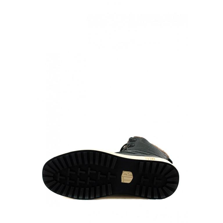 Ботинки зимние мужские Tesoro 198030-22-03 серые