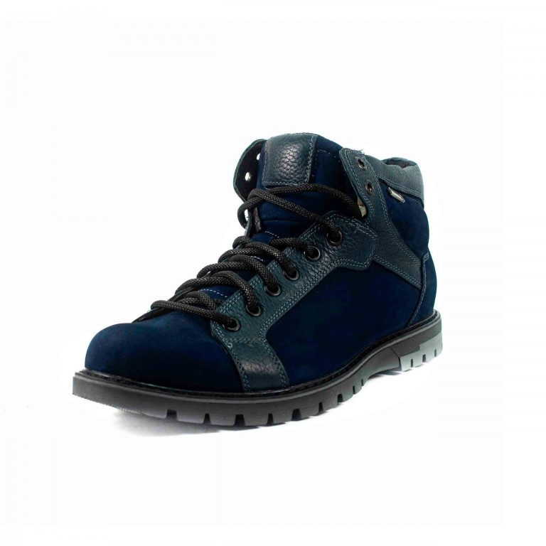 Ботинки зимние мужские MIDA 14876-12Ш тёмно-синие