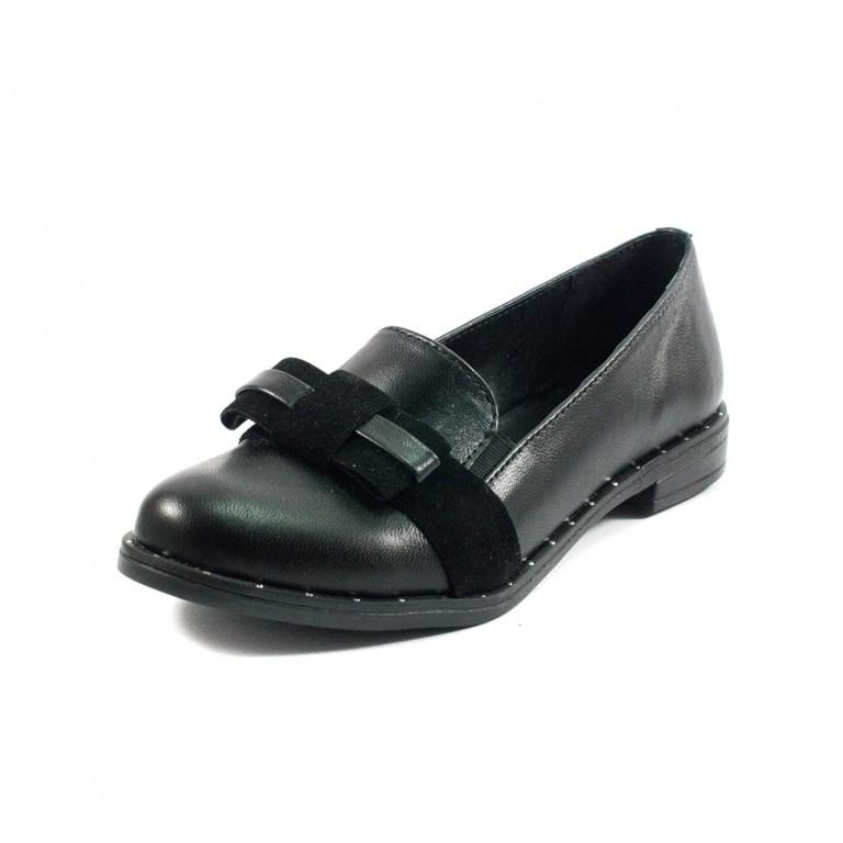 Туфли женские AmeLi AL108 черная кожа