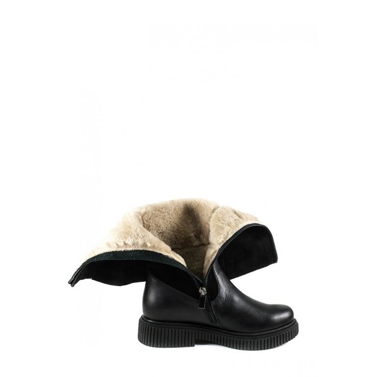 Сапоги зимние женские MIDA 24851-161Ш черные