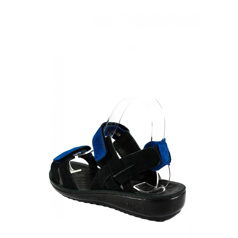 Босоножки женские TiBet 495-04-27-01 черно-синие