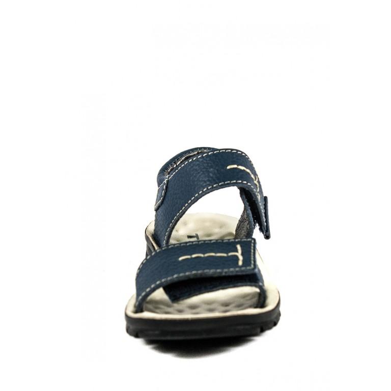 Сандали подростковые TiBet 008-02-03 синие