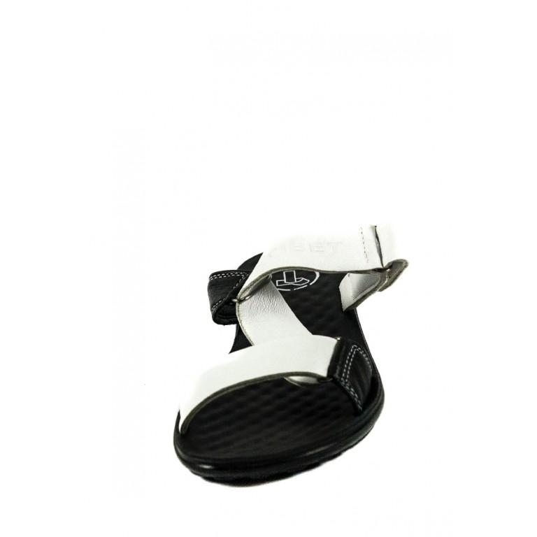 Шлепанцы женские TiBet 241 черно-белые