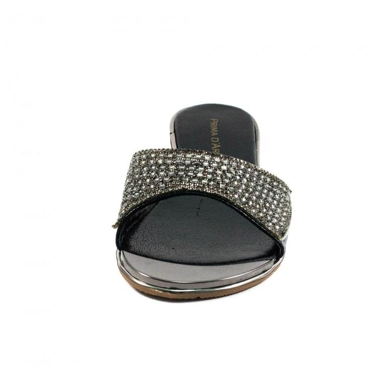 Шлепанцы женские Prima D'arte HR-2JBY02-1 черный