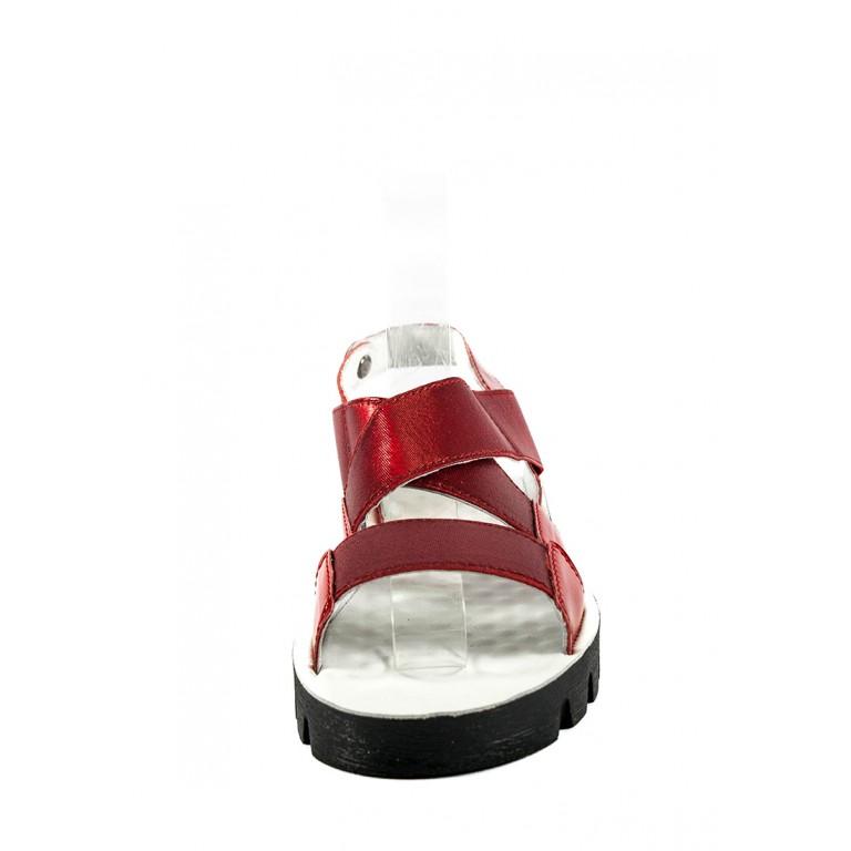 Босоножки женские TiBet 601-05-10 красные