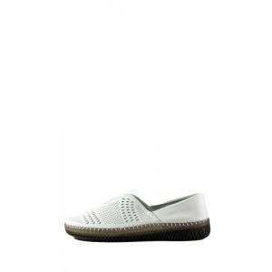 Мокасины женские Allshoes 19111-5K белые