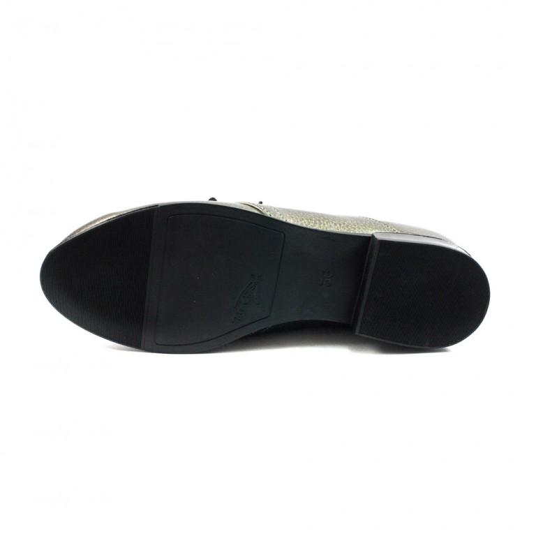 Туфли женские MISTRAL M576 бронза кожа