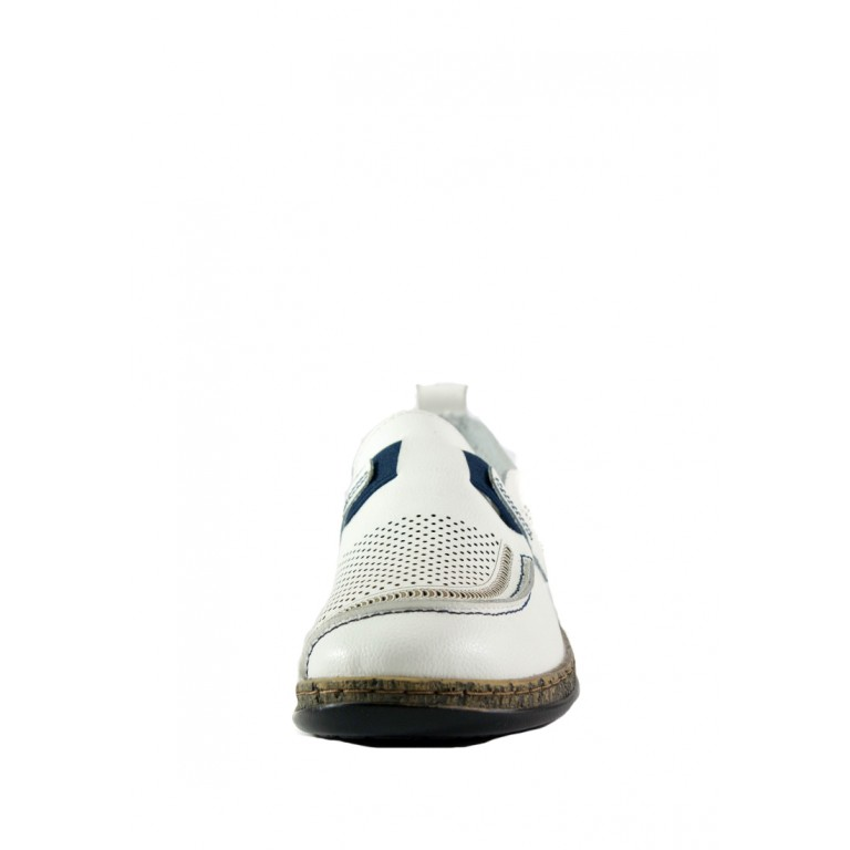Мокасины женские Allshoes 1985 белые