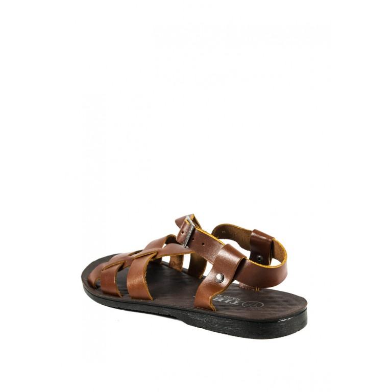Сандалии мужские TiBet 10-11 коричневые