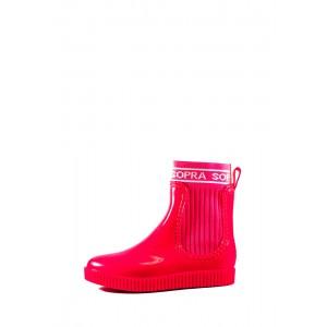 Сапоги женские резиновые Sopra СФ DDL-01 розовые