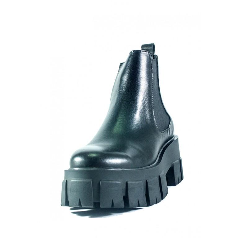 Ботинки демисезон женские Lonza L-90200-2654L черные