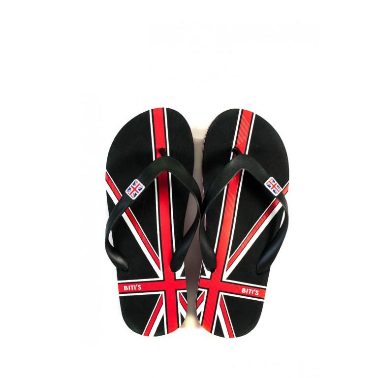 Шлепанцы мужские Bitis 9973-А красно-черные