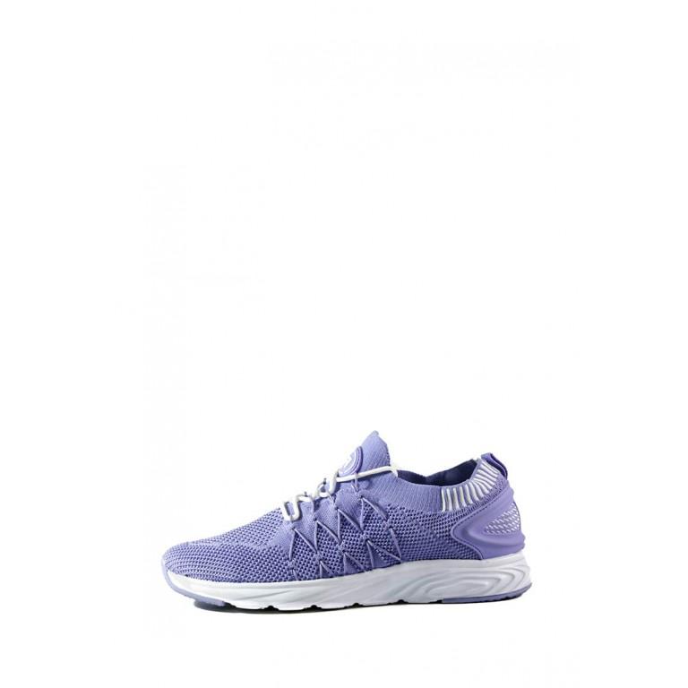 Кроссовки женские Restime UWB19613 фиолетовые