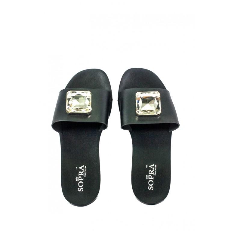 Шлепанцы женские Sopra СФ CJ-113 черные