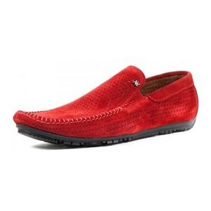 Мокасини чоловічі Alexandro червоний 09632