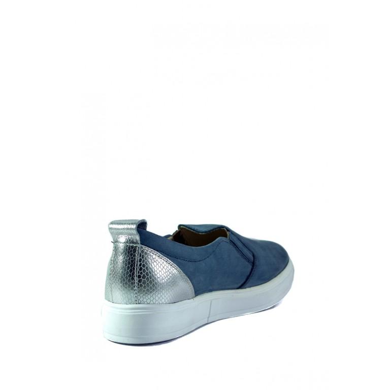 Мокасины женские MIDA 21905-324 голубые