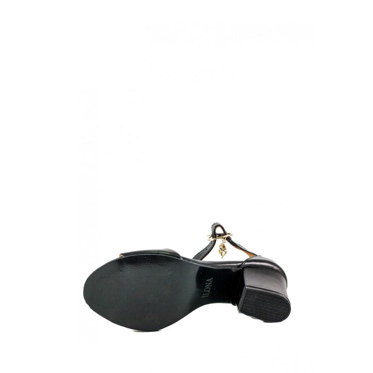 Босоножки женские летние Ilona СФ 604-IL-1К черные