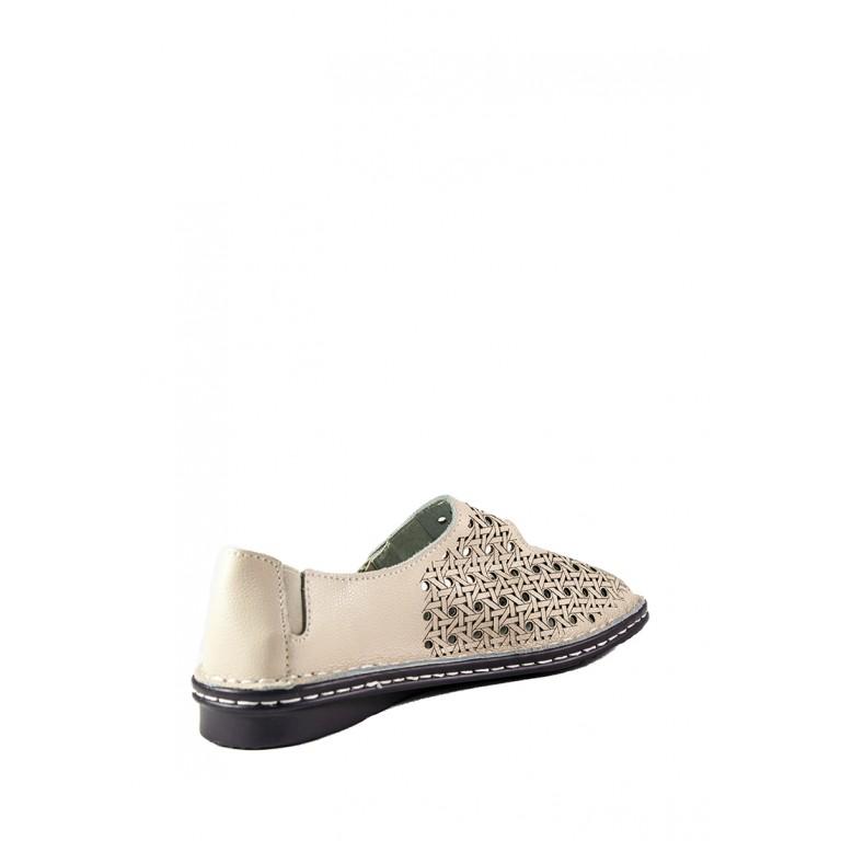 Туфли женские Allshoes 77937-1 бежевые