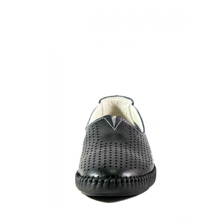 Мокасины женские Allshoes 2250 черные
