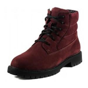 Ботинки зимние подросток MIDA 34122-430Ш бордовые
