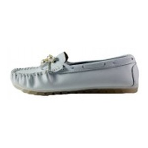 Мокасины женские Allshoes 3213 белые