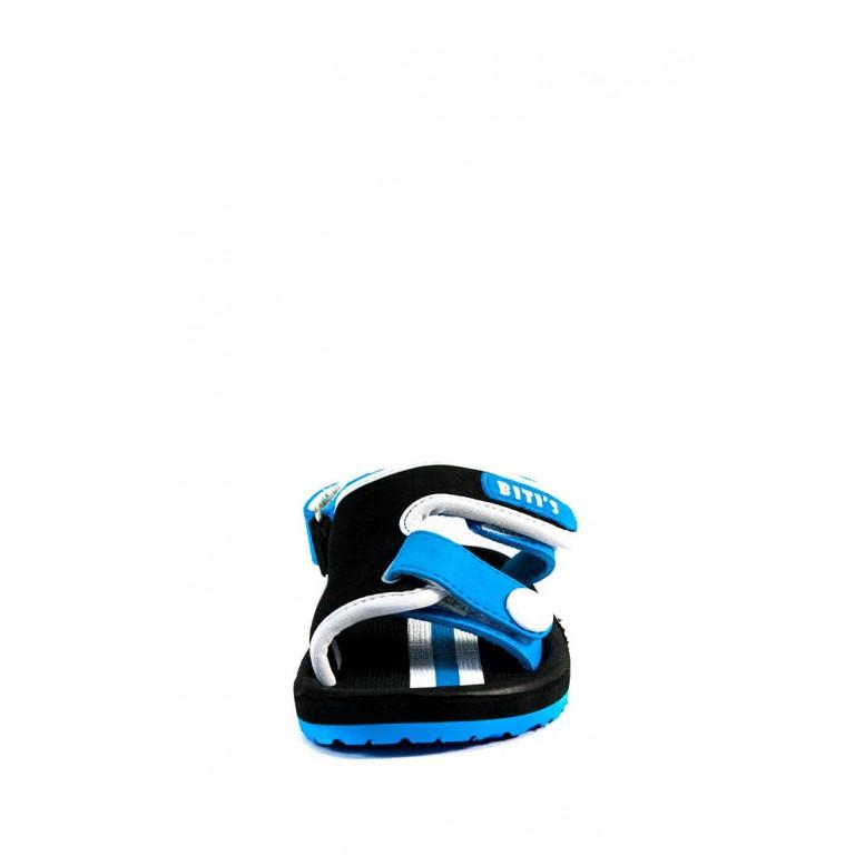 Сандали детские Bitis 9954-S черно-синие