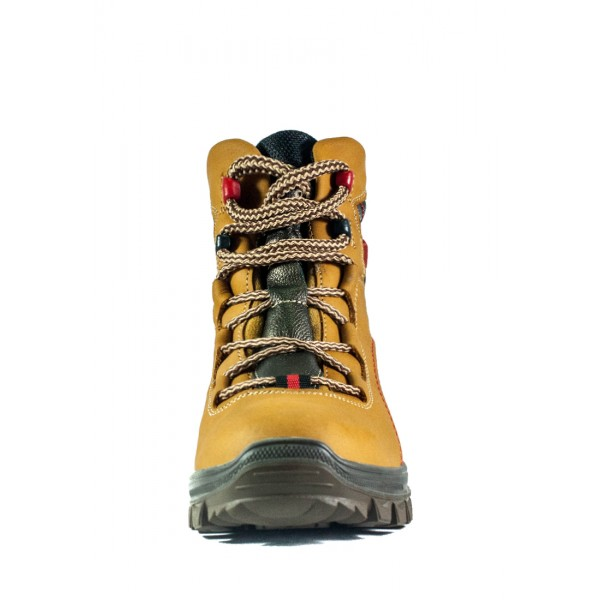 Ботинки зимние женские MIDA 24352-6Ш кэмел