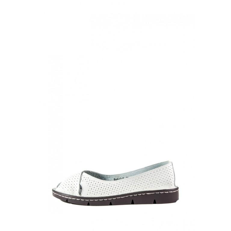 Балетки женские Allshoes 844-6-3 белый