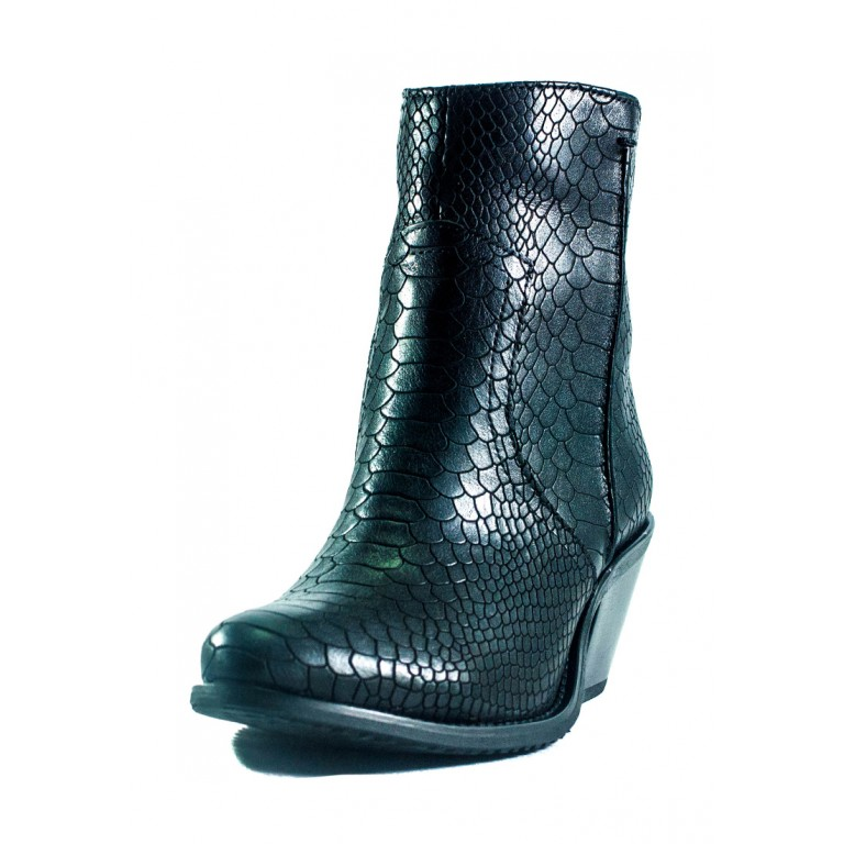 Ботинки демисезон женские Lonza 01015-2815-1K черные