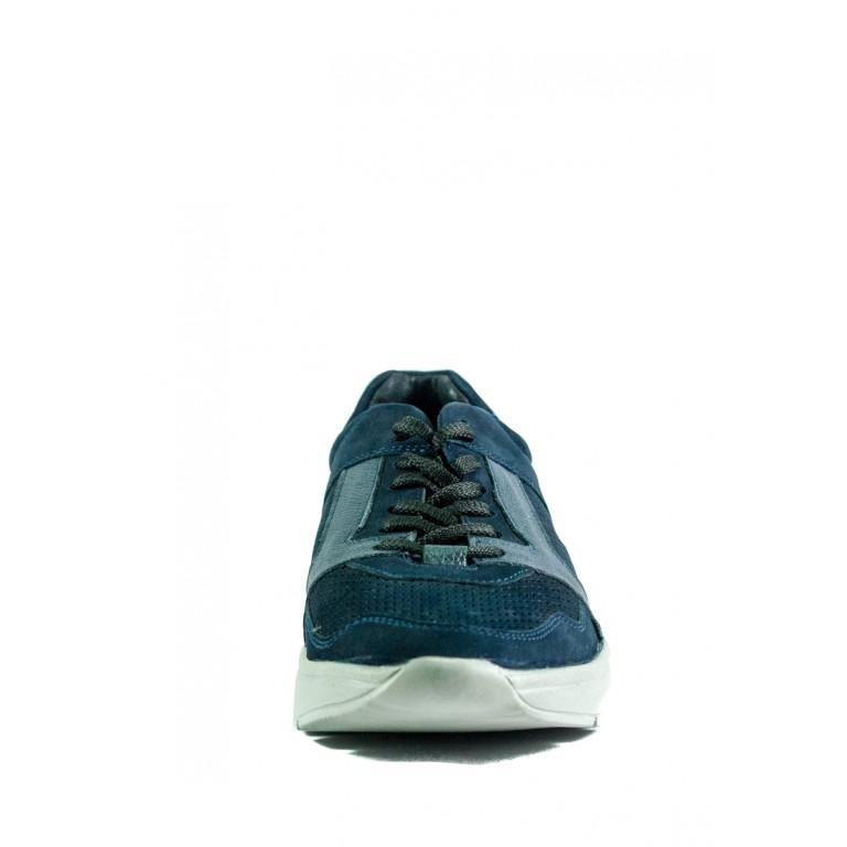 Кроссовки мужские MIDA 13463-12 синий нубук
